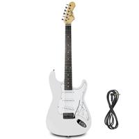 Johnny Brook JB412 Electric Guitar, White