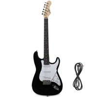Johnny Brook JB413 Black Electric Guitar