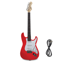 Johnny Brook JB414 Electric Guitar, Red