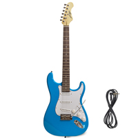 Johnny Brook Blue Electric Guitar