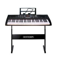 Bontempi Electronic Keyboard with Stand, 61-Keys
