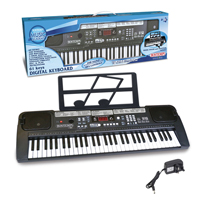Bontempi Electronic Music Keyboard with Music Stand - 61-Keys