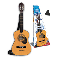 Bontempi Kids Acoustic Wooden Guitar Six String with Strap