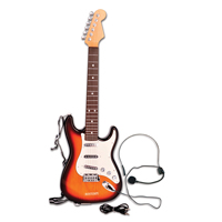 Bontempi Kids Electronic Guitar with Strap & Microphone