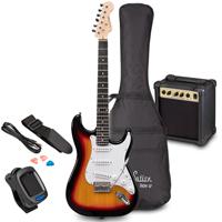 Soundsation RIDER GP 3T Sunburst Electric Guitar Set