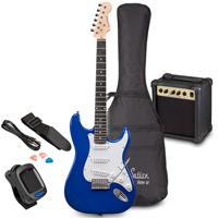 Soundsation RIDER GP Tropical Blue Electric Guitar Set