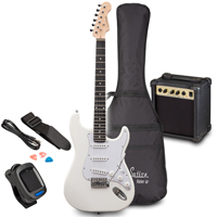 Soundsation RIDER GP Vintage White Electric Guitar Set
