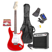 Max GIGKIT Red Electric Guitar & Amp Package