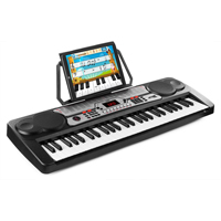 Max KB7 Electronic Music Keyboard - 54 Keys