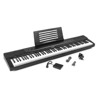 Max KB6 Electronic Keyboard - Digital Piano - 88 Weighted Keys