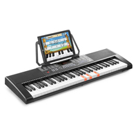 Electronic Beginner Keyboard with 61 Lighted Keys - MAX KB5