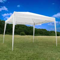 CanoUp White 3x3m Waterproof Pop Up Gazebo