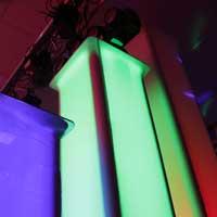 Vonyx Aluminum Steel Truss Totem Plinth Stand / Moving Head Podium & Scrim 1.5M