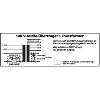Monacor 170310 TR-1120LC 100V Line Audio Transformer