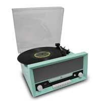 Fenton 102.118 RP135 Record Player 60's Combi