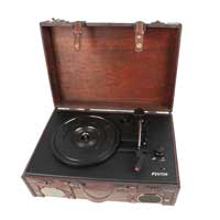 Fenton 102.121 RP140 Record Player Leather Briefcase