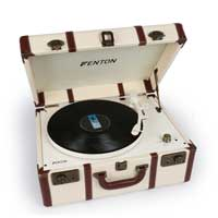 Fenton 102.124 RP145 Record Player Big Suitcase