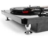 Fenton 102.109 RP120 Record Player Piano finish Black/Chrome