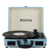Fenton RP115 Blue Record Player Briefcase