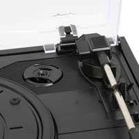 Fenton 102.101 RP108B Record Player Black