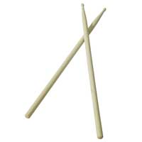 Johnny Brook Maple Tip Drum Sticks (Pair) Size 5B