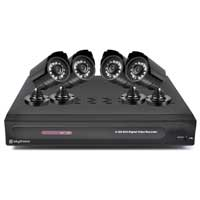 Skytronic DVR 4CMOS Digital CCTV System Kit 500GB