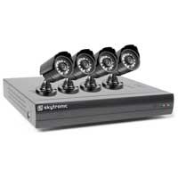 Skytronic DVR 4CMOS MKII Digital CCTV System Kit 500GB
