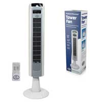 Prem-i-air Elite EH0037 Tower Fan with Timer and Remote Control