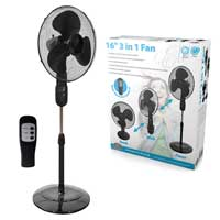 Prem-i-air Elite EH1774 16 3 in 1 Fan with Remote Control