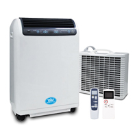 Prem-I-Air 15000 BTU Inverter Split Remote Portable Air Conditioner with Timer