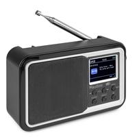 Audizio Anzio Portable DAB+ Radio with Bluetooth, Black