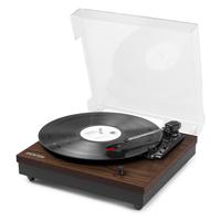 Bluetooth Vinyl Player - Fenton RP112D Darkwood