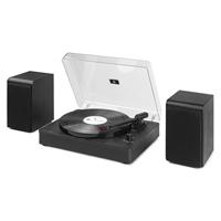 Bluetooth Vinyl Record Player System - Audizio RP330 Black
