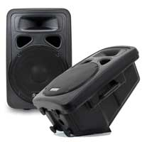 """Skytec SP1200A 12"""" Active PA Speaker Pair"""