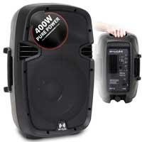 "Ekho RS10A 10"" Active PA Speaker Pair"