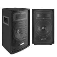 "Vonyx SL8 8"" Passive PA Speakers 800W Pair"