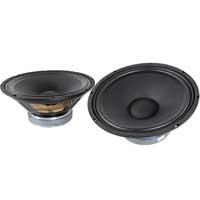 """2x QTX Sound 12"""" Speaker Drivers 250W"""