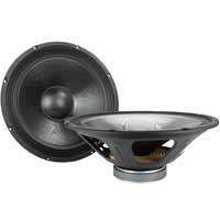 "2x QTX Sound 15"" Mid Speakers 720W"