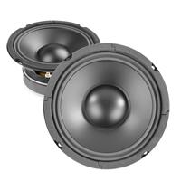 "2xSkytec 6.5"" Polypropylene PP Mid Bass Speaker Cone 200W"