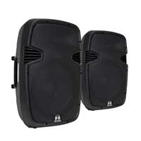 """Ekho RS15A 15"""" Active Speakers Pair"""