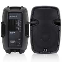 """Ekho RS12A 12"""" Active Speaker Pair & Cables"""