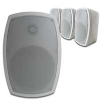 """PD ISPT5W 5"""" 100V Wall Speakers, Set of 4"""
