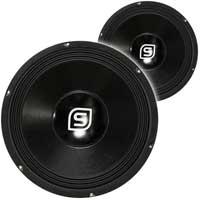 2x Skytec SPSL12 12 Inch Speaker Chassis 1200W