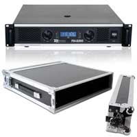 PD PDA-B2500 Power Amplifier & Flightcase