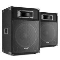 "Fenton CSB15 15"" Active PA Speaker Pair"