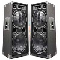 "Pair of Max212 Dual 12"" Passive Speakers"