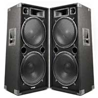 "2x Max SP215 Dual 15"" Passive Speakers"