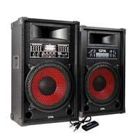 Skytec Active PA Karaoke Speaker Pair