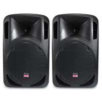 "Studiomaster DRIVE 12"" Passive Portable PA Speaker Pair"