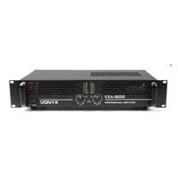 1500W DJ Amplifier - Vonyx VXA-1500 MKII
